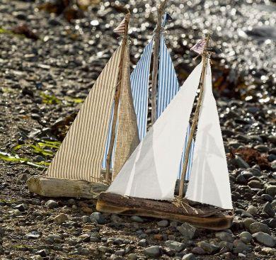 driftwood boats marina ideer pinterest segelboot treibholz und anleitungen. Black Bedroom Furniture Sets. Home Design Ideas