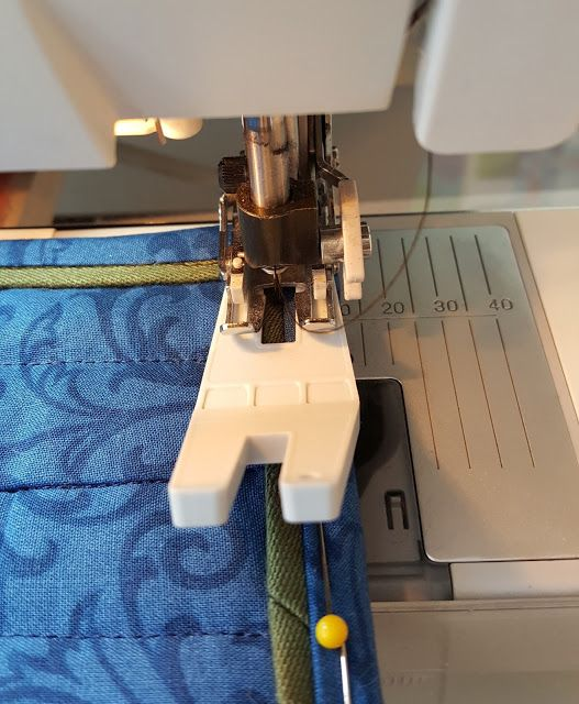 A Quilter's Tip For Smoothly Sewing Down Binding Corners