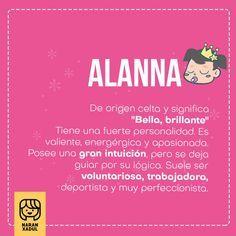 Significado del nombre Alanna