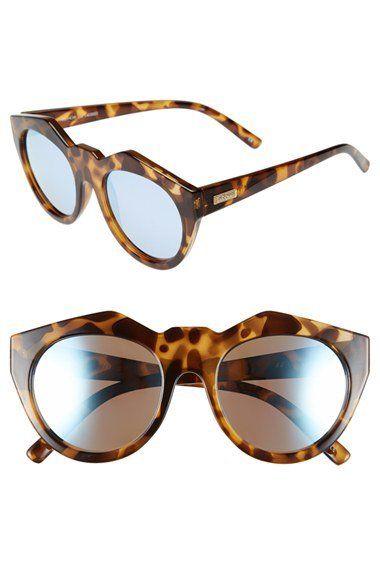 4569192c2d Le Specs  Neo Noir  53mm Oversized Sunglasses