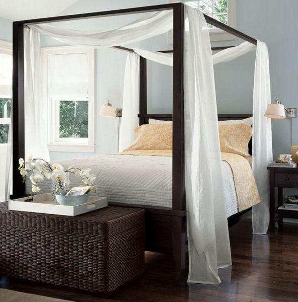 Feng Shui Bett Schlafzimmer Himmelbett Baldachin Bett