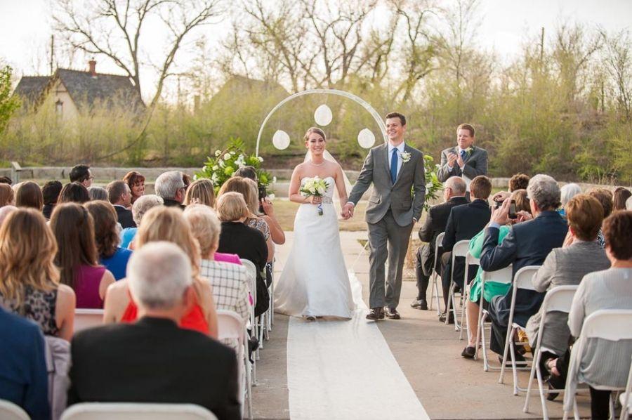 Cowtown Visitors Center Wedding In Wichita Ks