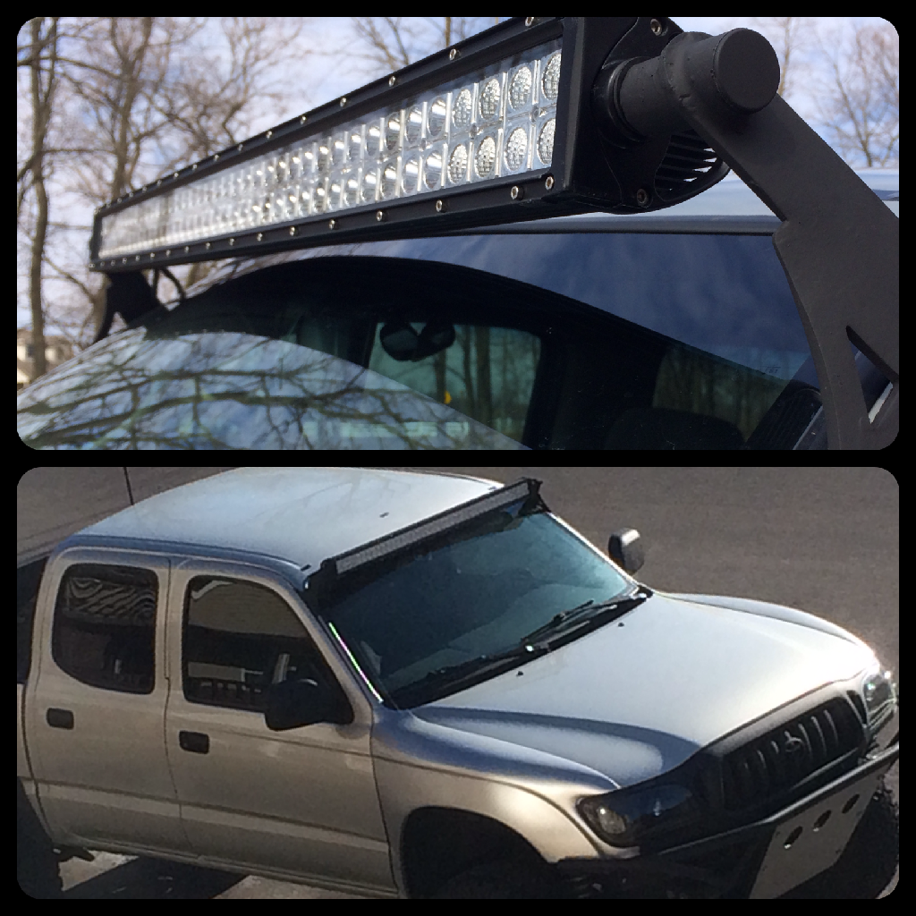 Fs 1st Gen 95 5 04 Tacoma Led Bar Roof Mounts Sold Support De Toit Toit Led