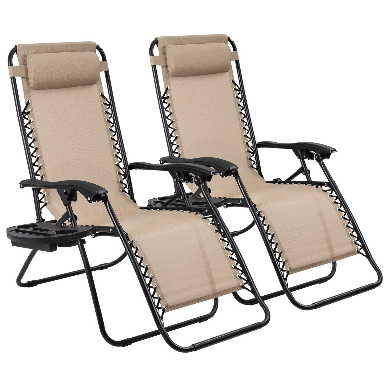The Devoko Patio Zero Gravity Chair Free Folding And Reclining Deck Chair Zero Gravity Chair Outdoor Folding Lounge Chair Gravity Chair