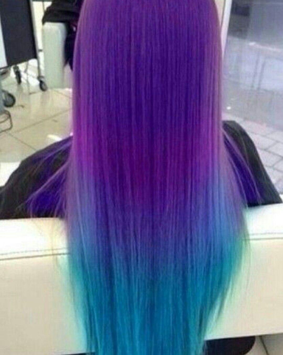Raimbowhair greenhair bluehair violethair purplehair
