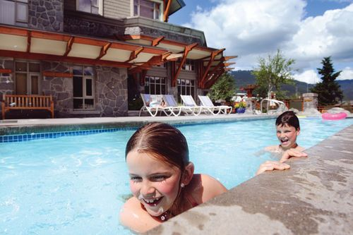 Pan pacific whistler village centre hotel amenities - Hotels with saltwater swimming pools ...