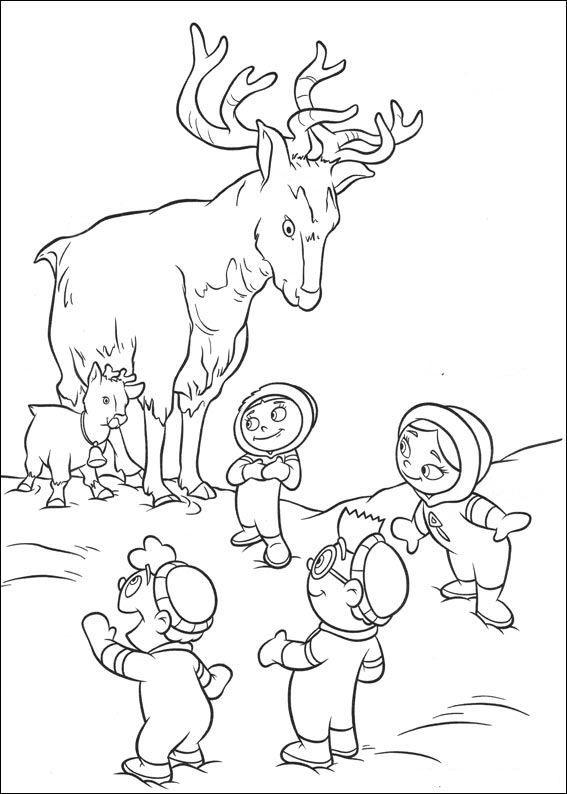 kleurplaat Little Einsteins - Kleine Einsteins | Summer Preschool ...