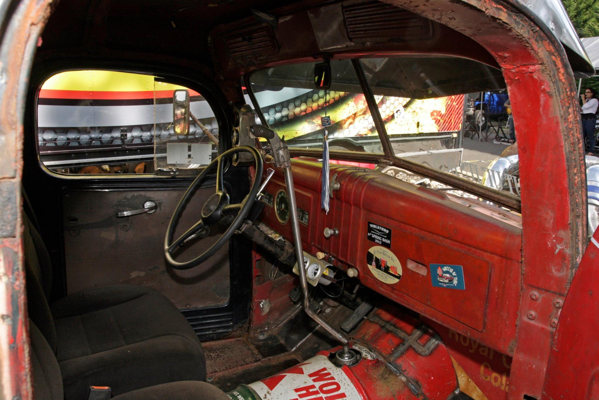 wtin turbo rat rod truck interior Muscle cars & hot rods