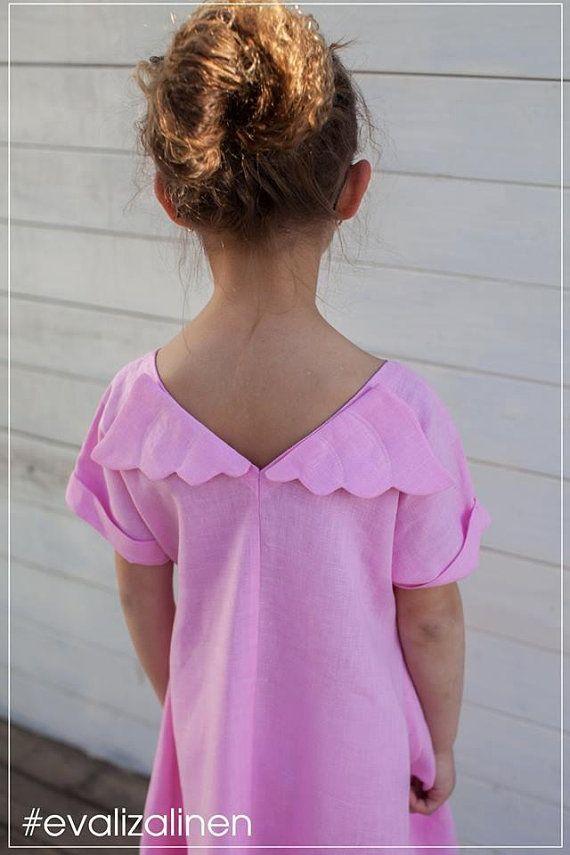 1c5543700c SALE  Linen dress with wings