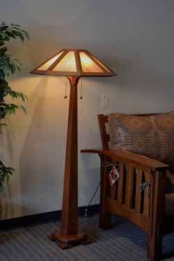 George Nakashima Floor Lamp | George Nakashima Woodworker ...