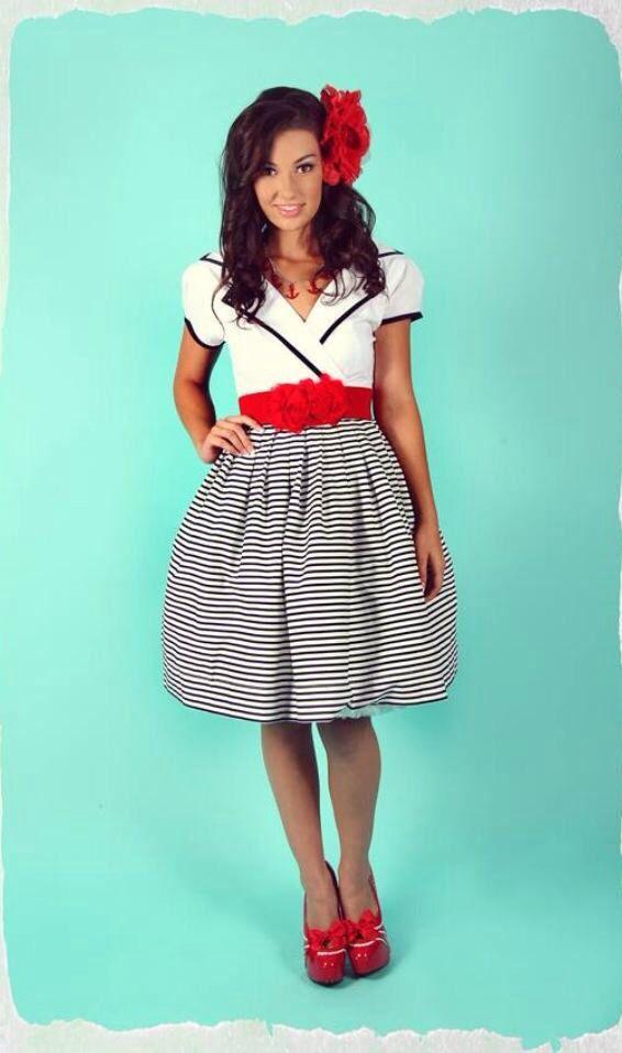 Kitten D\'amour vintage style collar dress, Aye Aye Kitten Collection ...