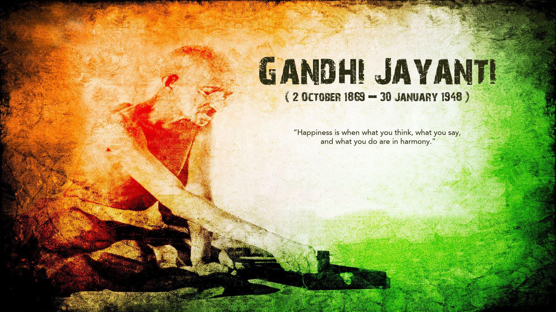 gandhi jayanti hd wallpaper