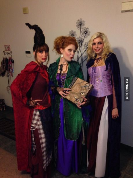 Hocus Pocus costumes! Hocus pocus costume, Hocus pocus and Costumes - sisters halloween costume ideas
