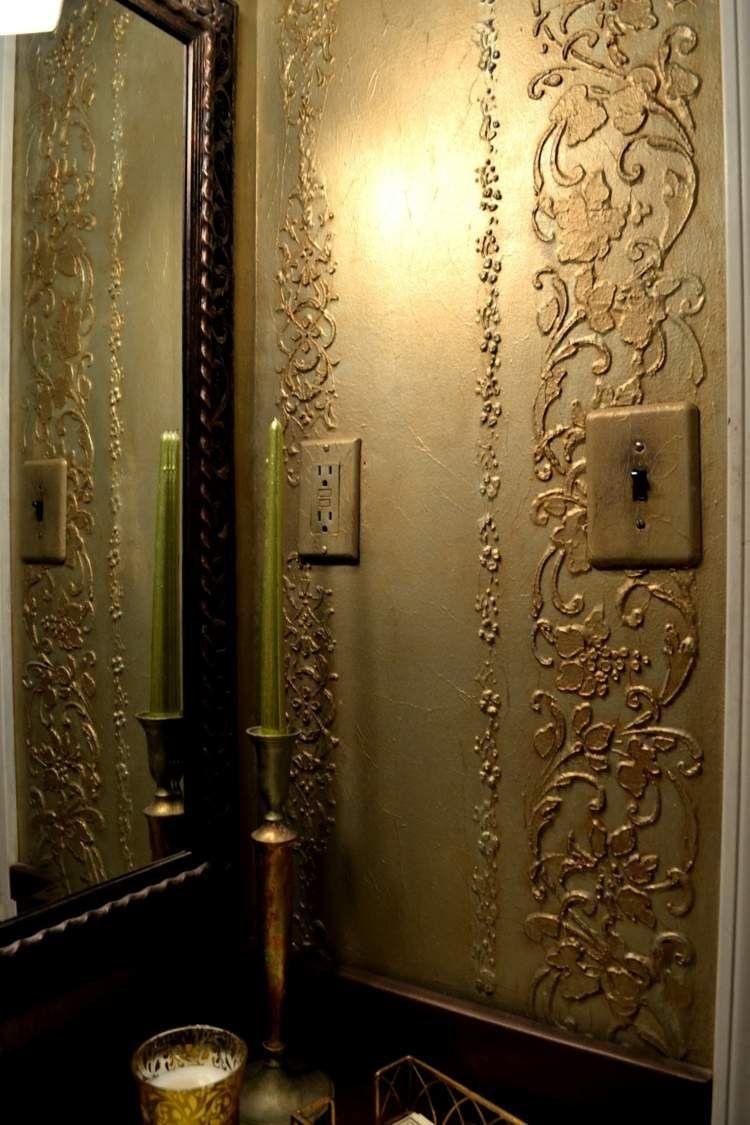 mit putz k nnen ornamente gestaltet werden dormitorio pinterest putz gestalten und. Black Bedroom Furniture Sets. Home Design Ideas