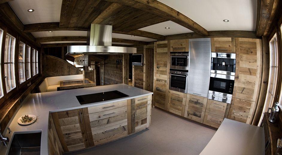 Cuisine de luxe en chalet suisse - Top luxury ski chalet ...