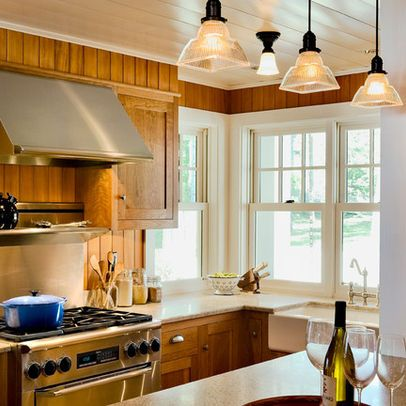 Knotty Pine Kitchen Cabinets Design Ideas, Pictures, Remodel, and ...