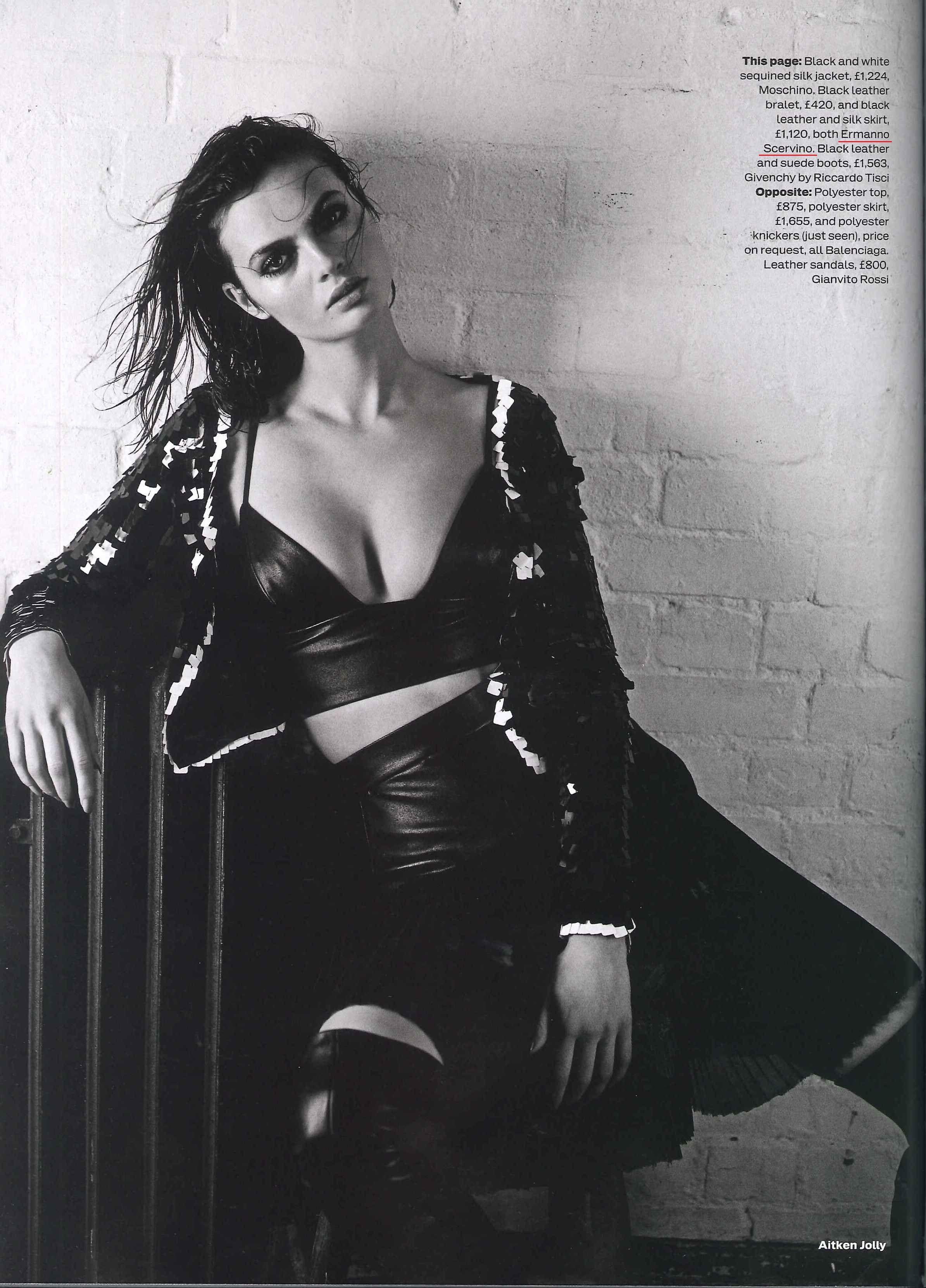 Black dress kisschasy lyrics - Ermanno Scervino Black Leather Dress