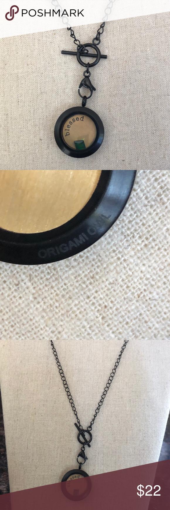 Photo of Origami Owl Black locket