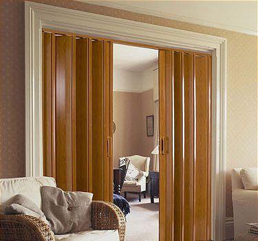 Puertas plegables de pvc puertas corredizas pinterest for Puertas plegables interior