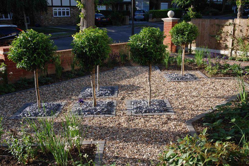 front garden ideas uk suburban front garden pinner ...