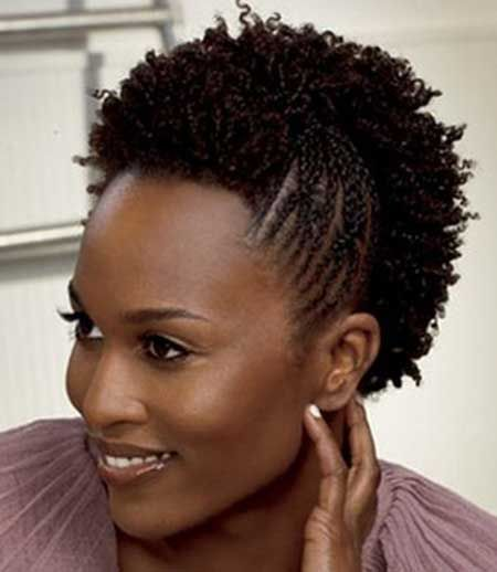 Fabulous 1000 Images About Natural Hair Short Hairstyles On Pinterest Short Hairstyles Gunalazisus