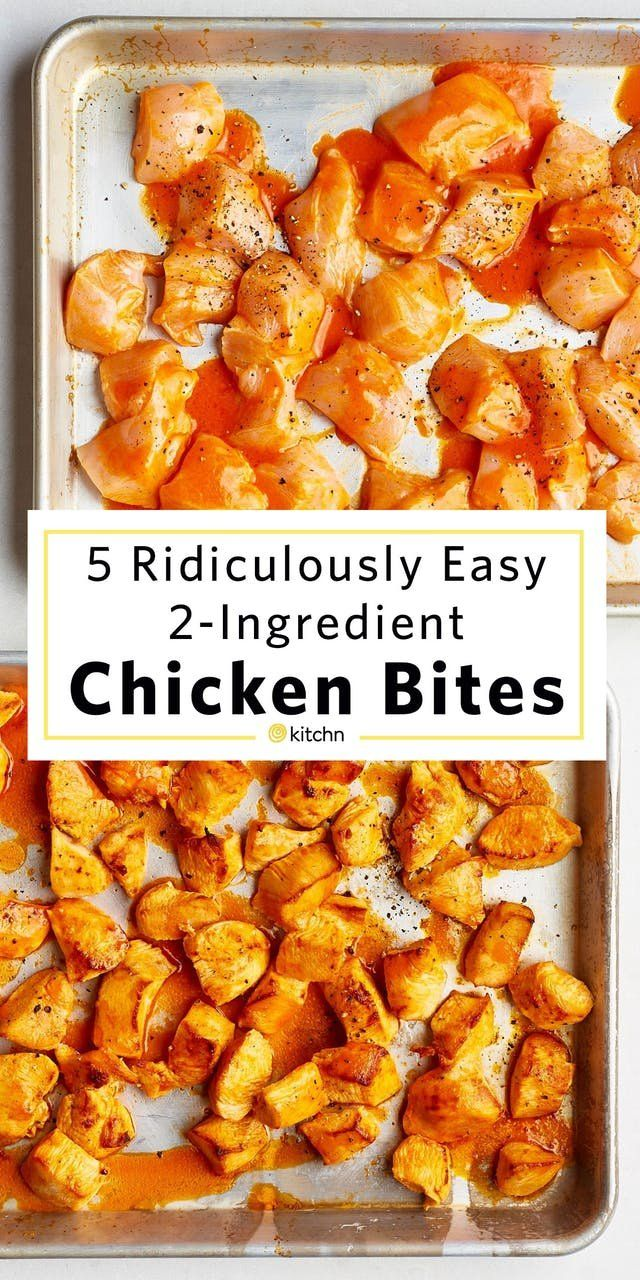 5 Ridiculously Easy Chicken Bites with Only 2 Ingredients