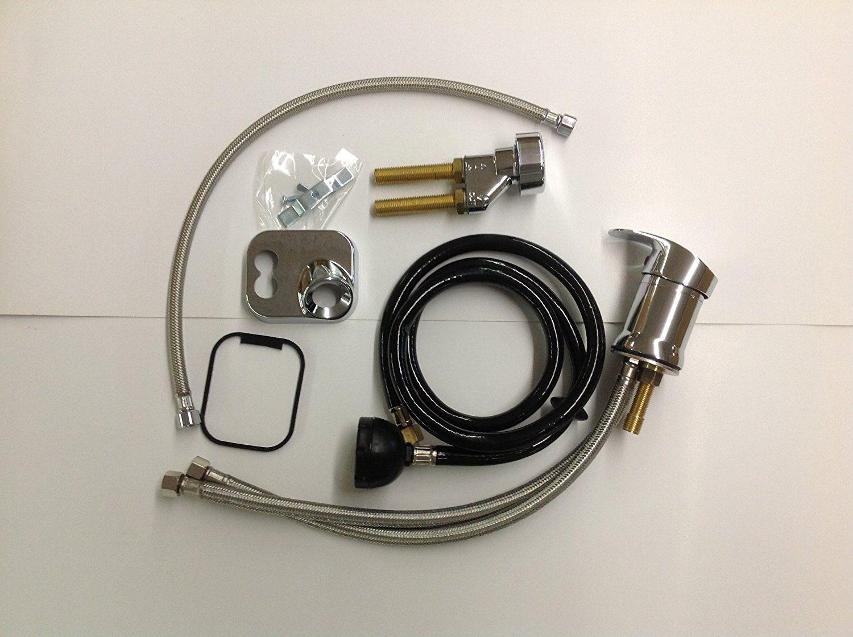 Ar 550 Salon Shampoo Bowl Faucet Sprayer And Vacuum Breaker Kit