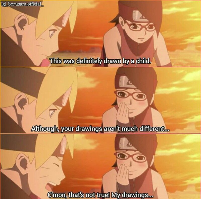 Boruto And Sarada Sarada Uchiha Naruto Boruto