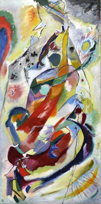 Vasilij Kandinskij - Panel for Edwin R. Campbell No. 1, 1914