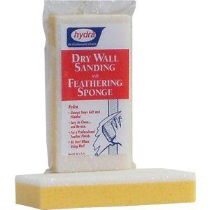 HYDRA 00010 9Inch X 412Inch X 134Inch Drywall Sanding and Feathering Sponge with Scrubber * Visit the image link more details.