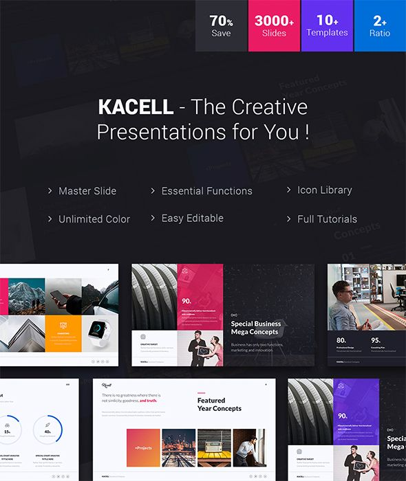 Kacell - Multipurpose  Business Template (Powerpoint) - Business