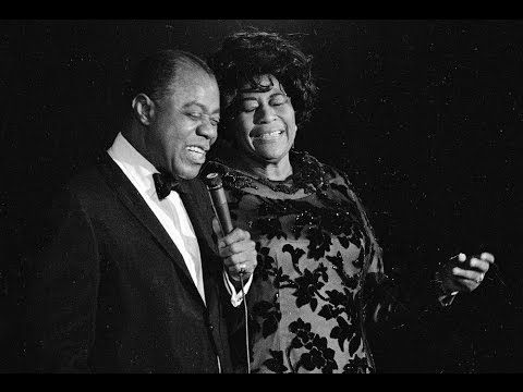 Ella Fitzgerald Louis Armstrong Dream A Little Dream Of Me Louis Armstrong Ella Fitzgerald Jazz Blues