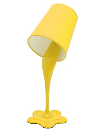 LumiSource Woopsy Table Lamp in Yellow  lighting in 2019