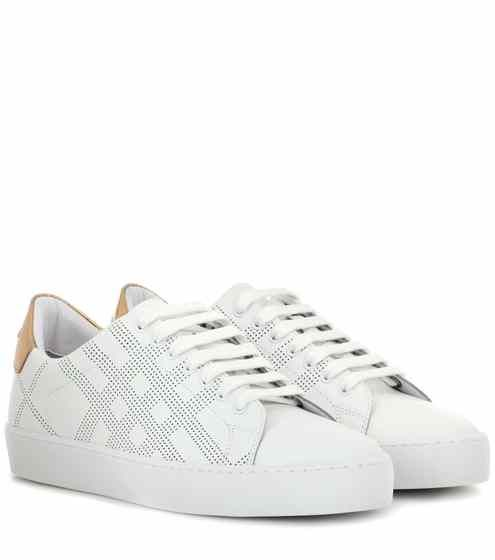 Westford leather sneakers   Burberry