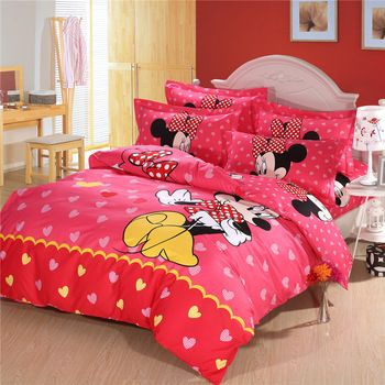Top Queen Size Mickey Mouse Bedding,Minnie Mouse Bedding ...