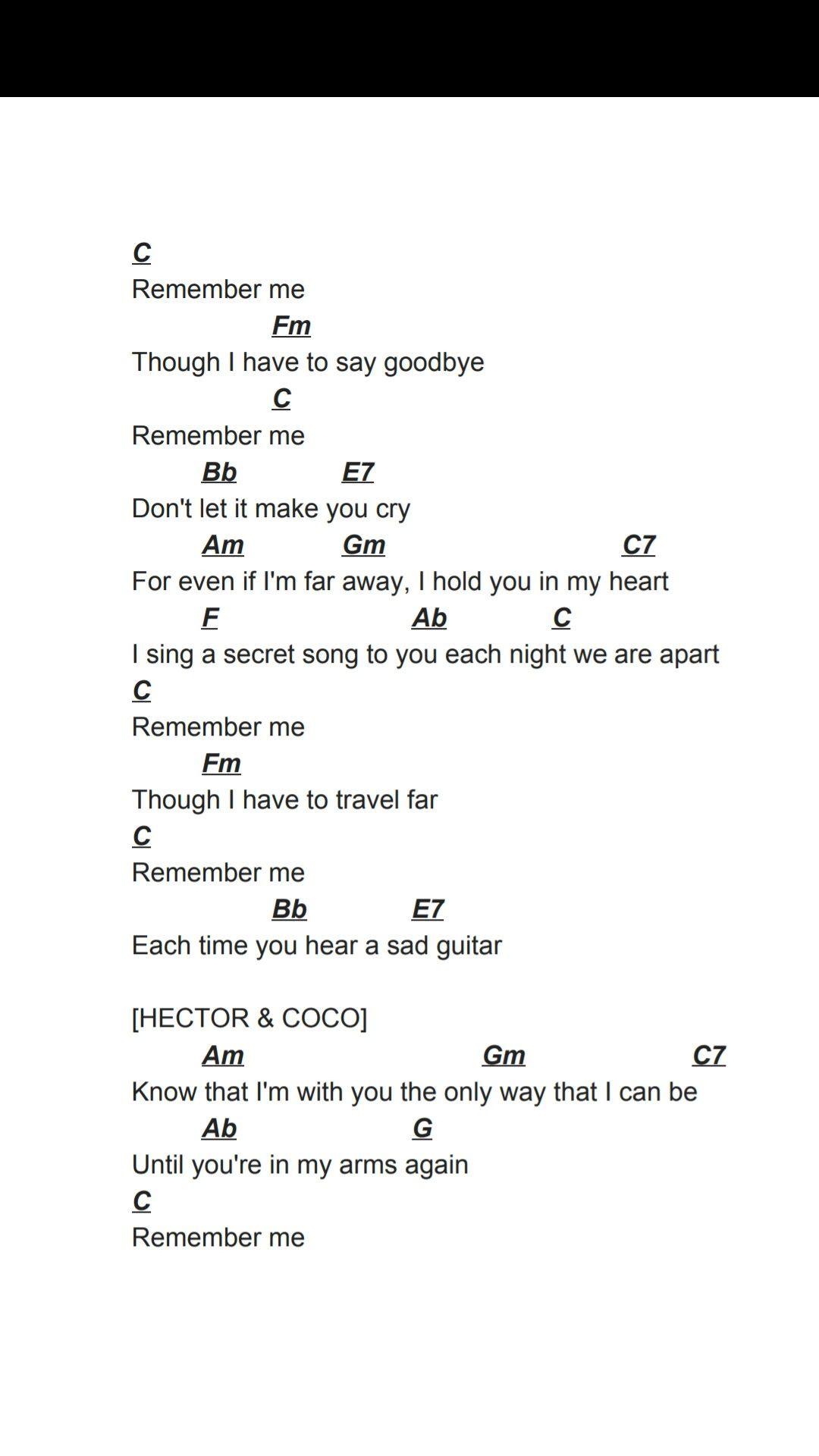 Coco remember me ukulele chords pinterest ukulele songs coco remember me ukulele songsukulele chordsfootprints hexwebz Images