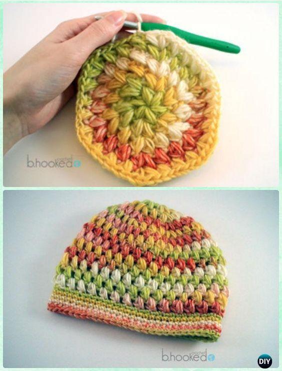 DIY ganchillo soplo Stitch sombrero de Instrucción-Modelo del ...