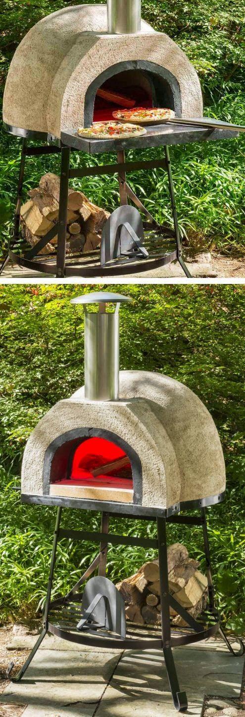 Outdoor Wood Fired Oven   BBQ   Pinterest   Horno, Asador y Horno de ...
