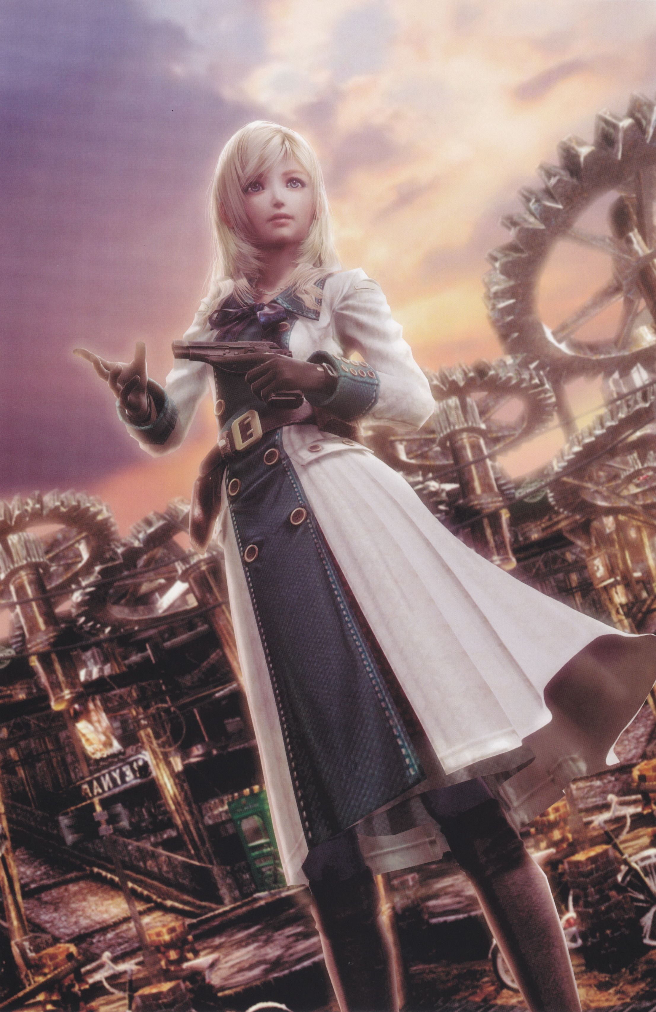 Leanne / Reanbell - Resonance of Fate | Resonance of fate, Fate, Shadow of  the colossus