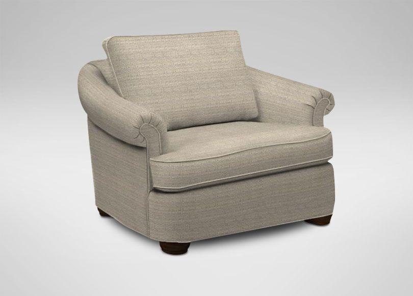 Merveilleux Paris Chair And A Half   Ethan Allen