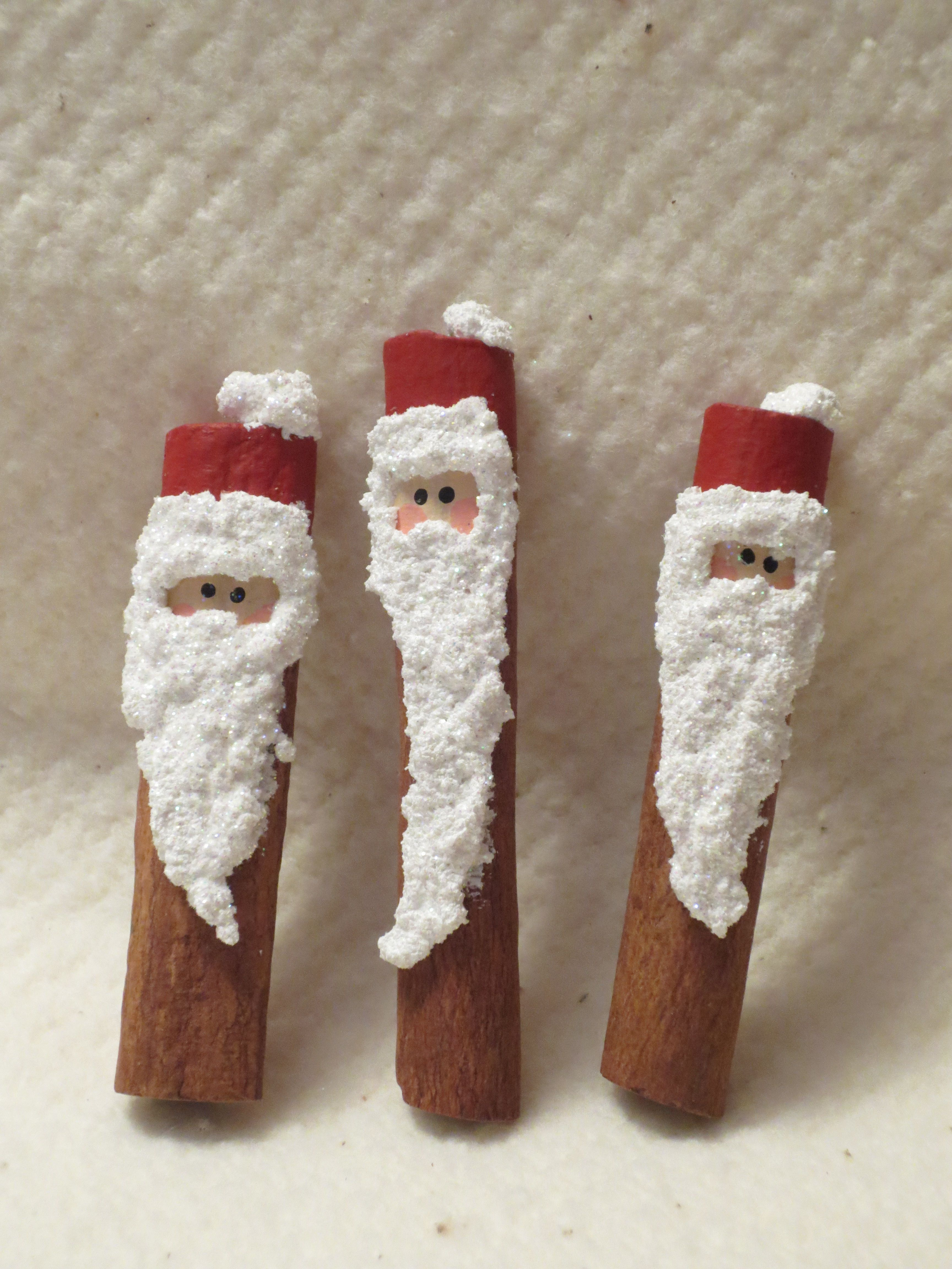 Cinnamon Stick Santas I Ve Been Making These For More Than 20