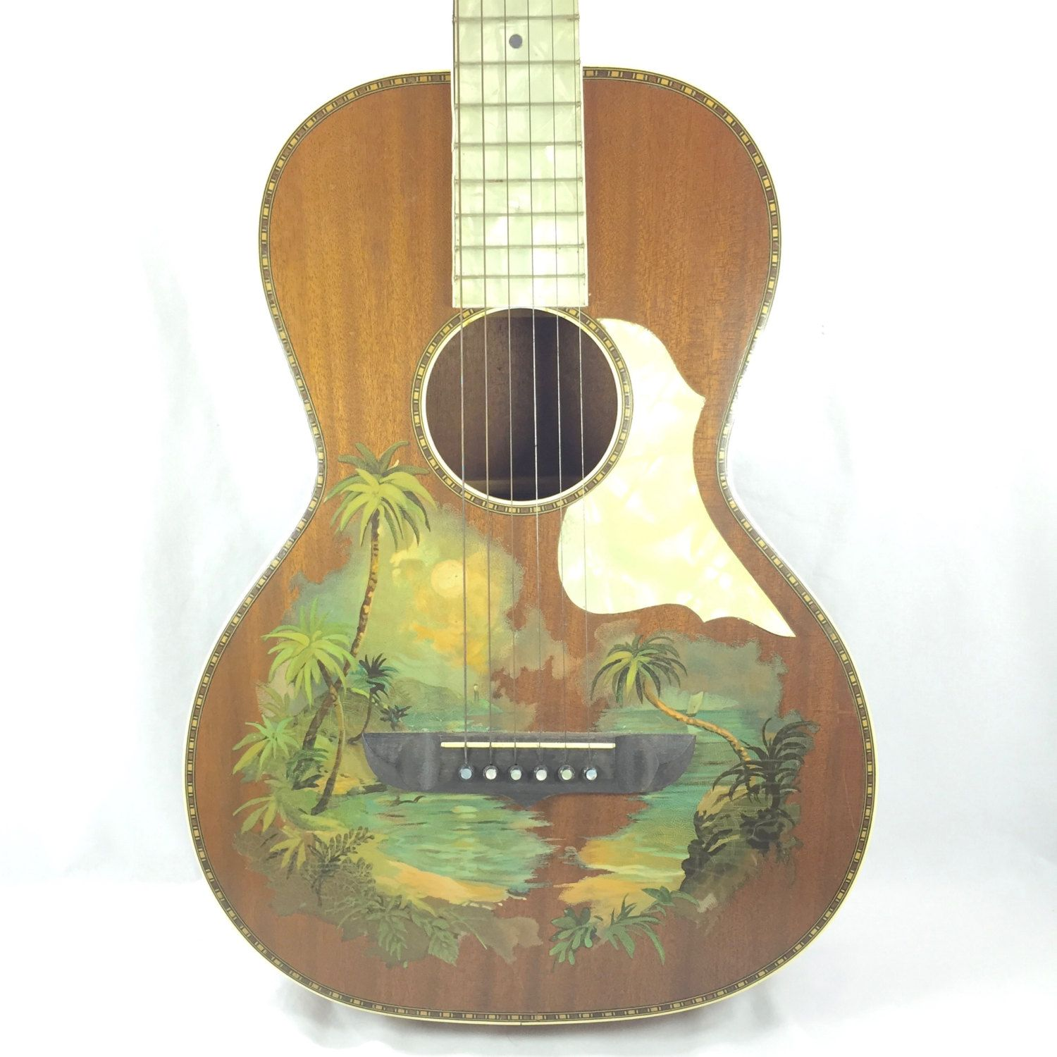 Vintage Guitar Hawaiian Stromberg Voisinet C 1920 S With Images