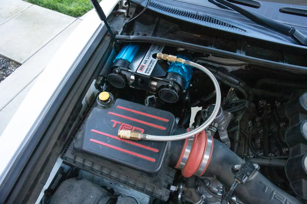 Arb Twin Compressor Install Wiring On 5th Gen Toyota 4runner Toyota 4runner 4runner Toyota