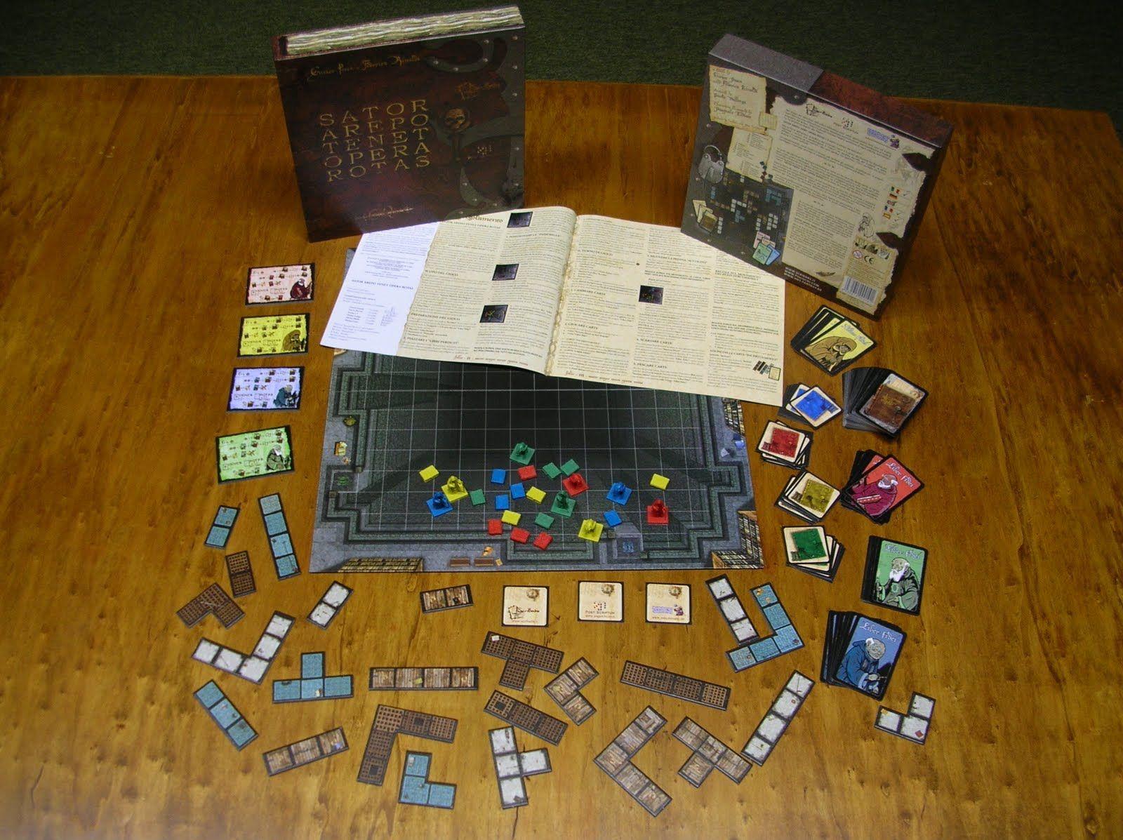 Juegos de Mesa Geeks: RESEÑA Y VIDEO - SATOR AREPO TENET OPERA ROTAS (2008)