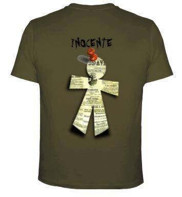 Camiseta hombre Inocente espalda #camiseta #humor #inocente http://www.latostadora.com/emcmasquecamisetas/inocente/450818