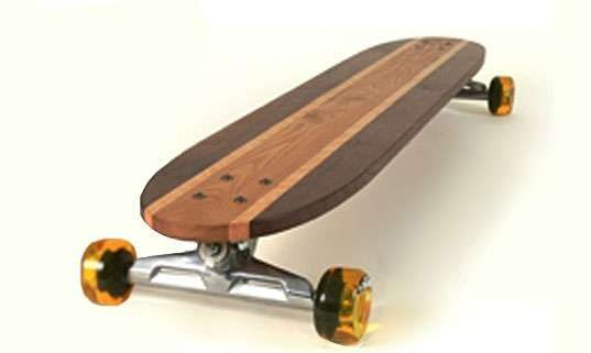 FunkinFunction Recycled Wood Skateboards #design trendhunter.com