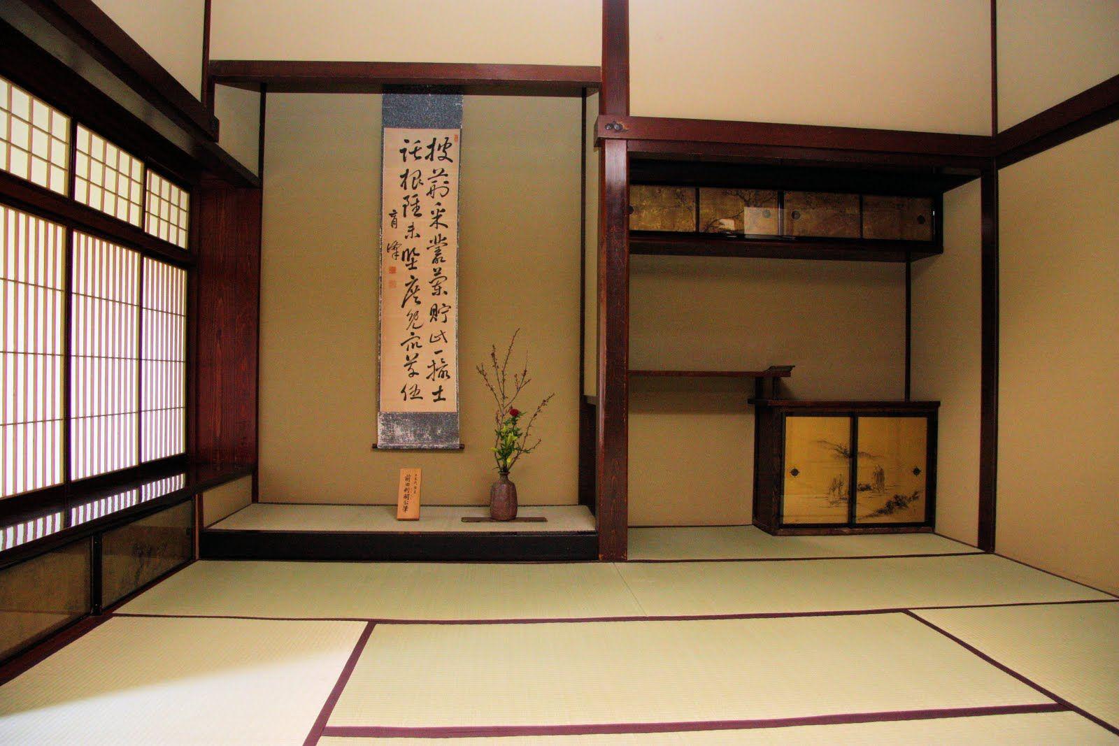 ikebana tokonoma are several stories about the origin of tokonoma and its - Chambre Japonaise Tatami
