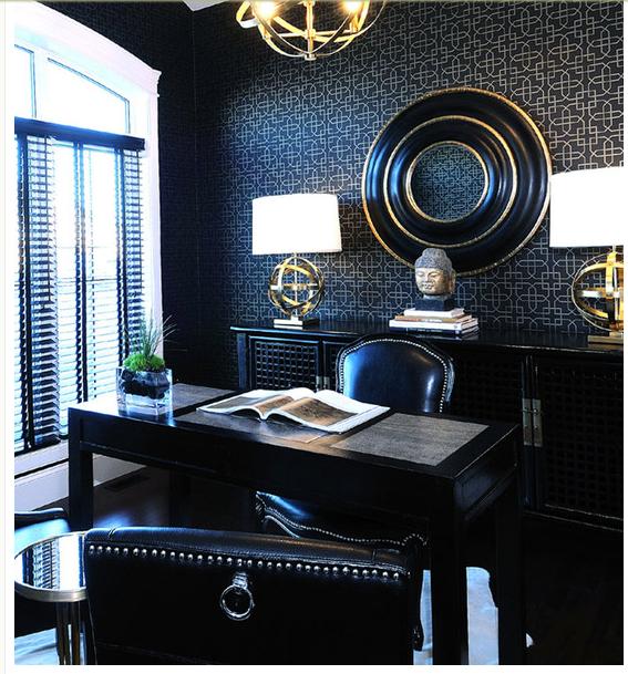 Exquisite Luxury Office #luxury #officedecorideas