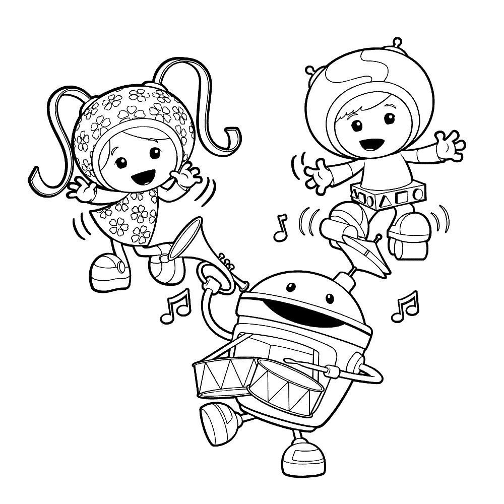 Free Printable Team Umizoomi Coloring Pages For Kids Coloring