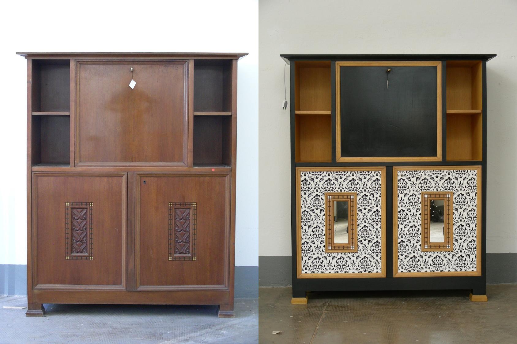 Restaurare Tavolo Legno Rovinato restauro mobili in legno a milano (con immagini